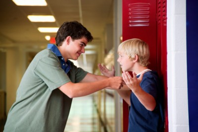 Stock photo: school bullying