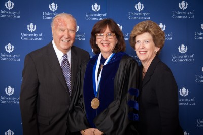 Sally Reis and Ray and Carole Neag