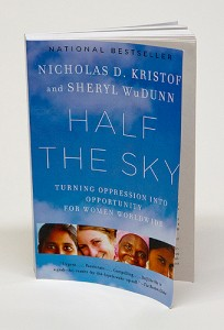 A photo of the first book to be selected for the UConn Reads Program