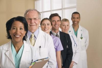 Stock image -- medical professional