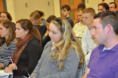 Students in the Neag School of Education's Teacher Certification Program for College Graduates a