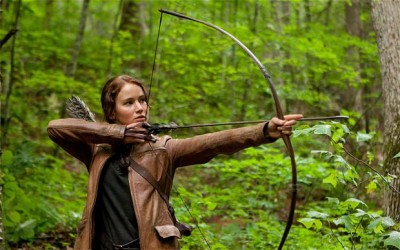 Theater image from The Hunger Games movie. (Google images)