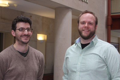 Neag graduate students, Craig Waterman and Glen Davenport, are the first two recipients of the grant.