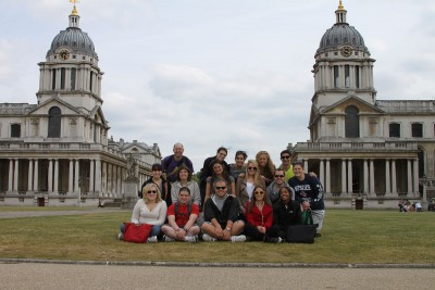 While on the Education Program in London, Neag students visited Maritime Greenwich.