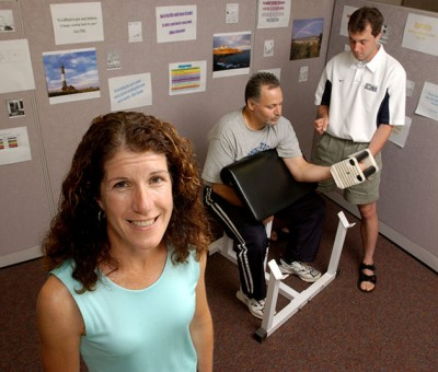 Linda Pescatello, Board of Trustees Distinguished Professor of Kinesiology and senior editor of the American College of Sports Medicine's Guidelines for Exercise Testing and Prescription, ninth edition. (File photo)