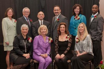 Alumni Award winners 2013 Group Shot