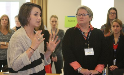 Teachers and administrators shared experiences as it related to the four short films.