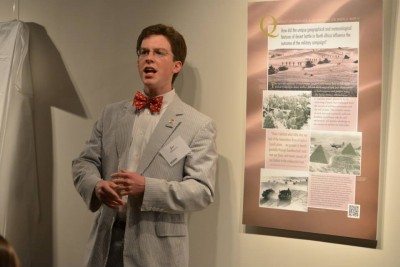 Recent Neag graduate, Joe Williamson, shares his insights on how he developed the historic content for the museum display.