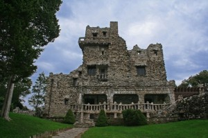 Gillette Castle in East Haddam was selected by online poll as the Connecticut landmark that would go missing.