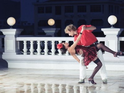 Photo credit: A couple dancing the tango. A UConn study has found that couples who share creative pursuits are more likely to enjoy longer relationships, but solo pursuits may keep them single. (Think stock Photo)