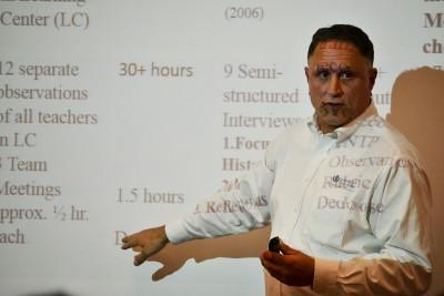 Second Presenter at Ed Symposium 2015